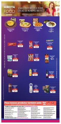 Ofertas de Restaurantes no catálogo Hirota Food Express (  2 dias mais)