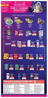 Ofertas de Restaurantes no catálogo Hirota Food Express (  6 dias mais)