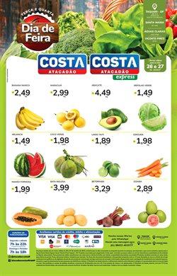 Ofertas Supermercados no catálogo Costa Atacadão em Aracaju ( Vence hoje )