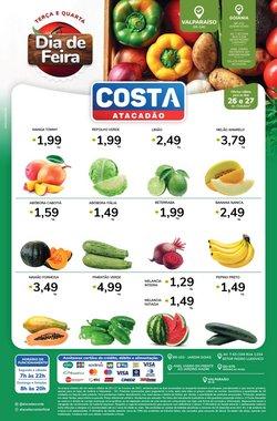 Ofertas de Supermercados no catálogo Costa Atacadão (  Vence hoje)