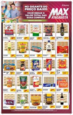 Ofertas de Supermercados no catálogo Max Atacadista (  Publicado ontem)