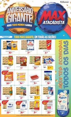 Ofertas de Supermercados no catálogo Max Atacadista (  Publicado hoje)