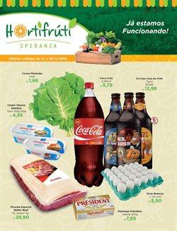Promoção de Cola no folheto de Hortifruti Esperanza em São Paulo