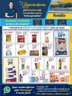 Ofertas de Supermercados no catálogo Roldão (  Publicado ontem)
