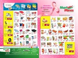 Promoção de Mart Minas no folheto de Patos de Minas