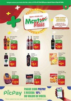 Ofertas Supermercados no catálogo Mart Minas em Poços de Caldas ( Publicado hoje )