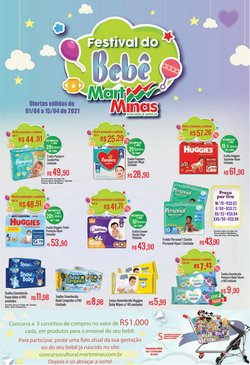 Ofertas Supermercados no catálogo Mart Minas em Juiz de Fora ( Válido até amanhã )
