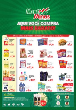 Ofertas de Supermercados no catálogo Mart Minas (  Válido até amanhã)