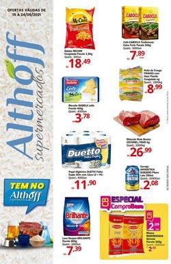 Ofertas de Supermercados no catálogo Althoff Supermercados (  4 dias mais)