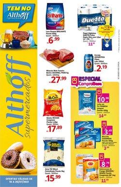 Ofertas de Althoff Supermercados no catálogo Althoff Supermercados (  Válido até amanhã)