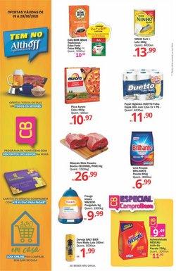 Ofertas de Supermercados no catálogo Althoff Supermercados (  Publicado ontem)