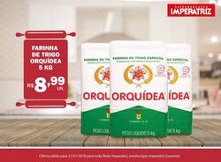 Promoção de Supermercados Imperatriz no folheto de Florianópolis