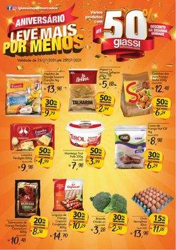 Ofertas de Supermercados no catálogo Giassi Supermercados (  Vence hoje)