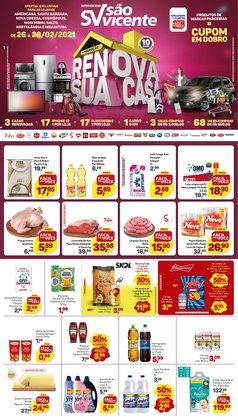 Ofertas Supermercados no catálogo Supermercados São Vicente em Indaiatuba ( 3 dias mais )