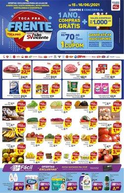 Catálogo Supermercados São Vicente (  Publicado ontem)