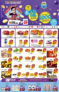 Catálogo Supermercados São Vicente (  Publicado hoje)