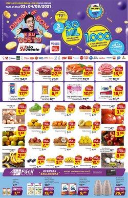 Catálogo Supermercados São Vicente (  Válido até amanhã)