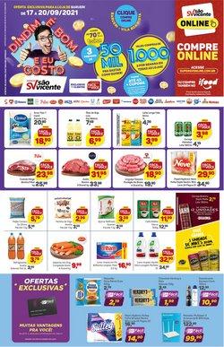 Ofertas de Supermercados São Vicente no catálogo Supermercados São Vicente (  Válido até amanhã)