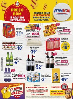 Ofertas de Extrabom Supermercados no catálogo Extrabom Supermercados (  Vencido)