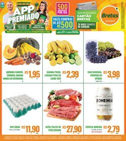 Ofertas de Supermercado Bretas no catálogo Supermercado Bretas (  Válido até amanhã)