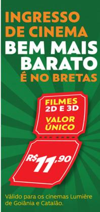 Promoção de Bretas Supermercados no folheto de Goiânia