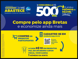 Cupom Supermercado Bretas em Anápolis ( 7 dias mais )