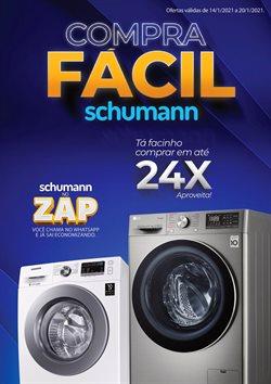 Ofertas Lojas de Departamentos no catálogo Schumann em Cachoeirinha ( Válido até amanhã )