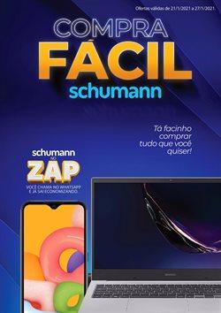 Ofertas Lojas de Departamentos no catálogo Schumann em Alvorada ( Publicado hoje )