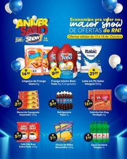 Ofertas de Supermercados no catálogo Super Show (  Vence hoje)
