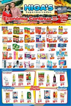 Ofertas de Supermercados no catálogo Supermercado Higas (  Publicado hoje)