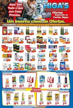 Ofertas de Supermercados no catálogo Supermercado Higas (  Válido até amanhã)