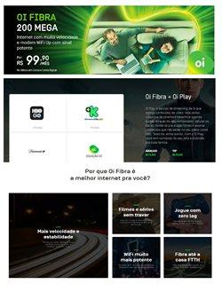 Ofertas Tecnologia e Eletrônicos no catálogo Oi ( 16 dias mais )