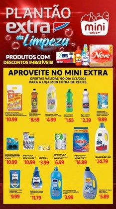 Ofertas Supermercados no catálogo Mini Extra em Jaboatão dos Guararapes ( 3 dias mais )