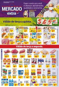 Ofertas Supermercados no catálogo Mercado Extra em São Gonçalo ( 2 dias mais )