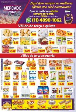 Ofertas de Supermercados no catálogo Mercado Extra (  Válido até amanhã)