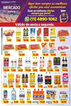 Ofertas de Supermercados no catálogo Mercado Extra (  Vence hoje)