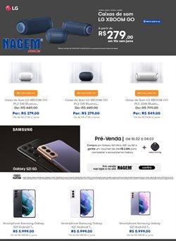 Ofertas Tecnologia e Eletrônicos no catálogo Nagem em Salvador ( 3 dias mais )