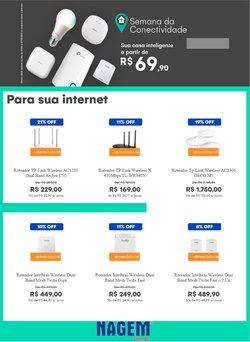 Ofertas Tecnologia e Eletrônicos no catálogo Nagem em Carapicuíba ( 2 dias mais )