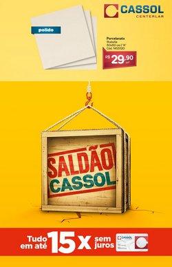 Ofertas Material de Construção no catálogo Cassol em Camaçari ( Publicado ontem )