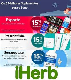 Ofertas Farmácias e Drogarias no catálogo iHerb em Juiz de Fora ( Válido até amanhã )