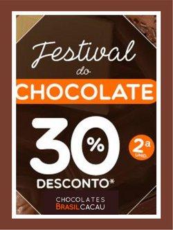 Ofertas Restaurantes no catálogo Chocolates Brasil Cacau em Brasília ( Válido até amanhã )