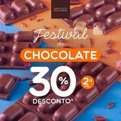 Ofertas Restaurantes no catálogo Chocolates Brasil Cacau em Arapiraca ( Vence hoje )