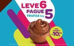 Promoção de Chocolates Brasil Cacau no folheto de São Paulo