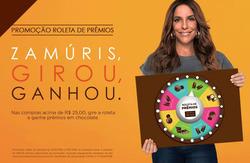 Promoção de Chocolates Brasil Cacau no folheto de Lauro de Freitas