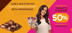 Promoção de Restaurantes, lanchonetes no folheto de Chocolates Brasil Cacau em São Luís