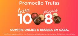 Cupom Chocolates Brasil Cacau em Linhares ( Vence hoje )