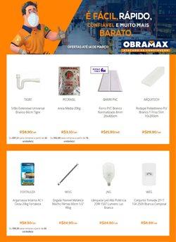 Ofertas Material de Construção no catálogo Obramax em São Paulo ( 7 dias mais )