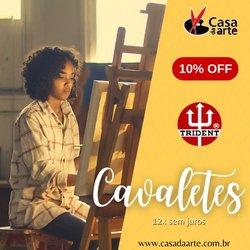 Ofertas de Livraria, Papelaria e Material Escolar no catálogo Casa da Arte (  Vence hoje)
