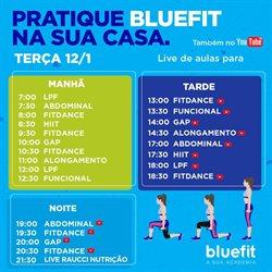 Ofertas Esporte e Fitness no catálogo Bluefit em Santos ( 4 dias mais )