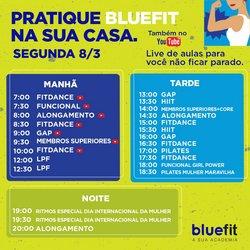 Ofertas Esporte e Fitness no catálogo Bluefit em São Caetano do Sul ( Publicado ontem )